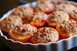 Персики фаршированные