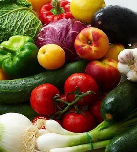 Виды овощей и фруктов