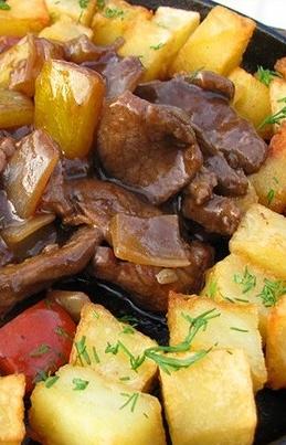 Жаркое из картофеля