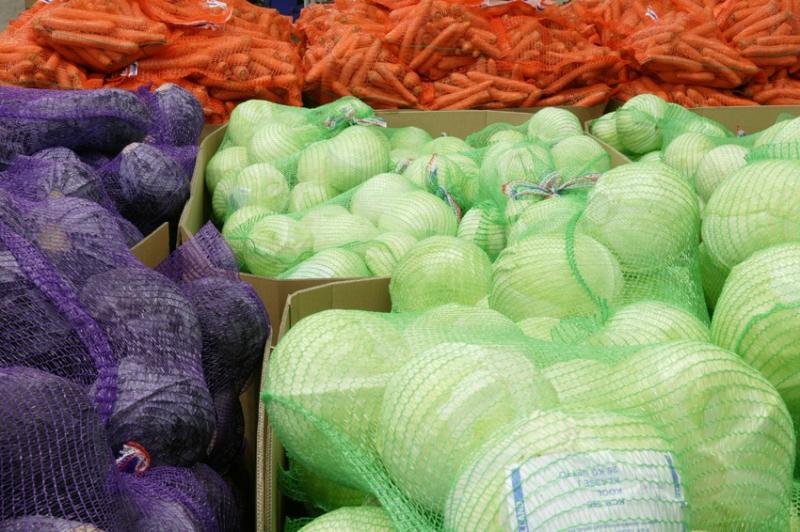 Овощи крупным и мелким оптом со склада в Москве