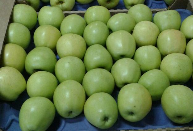 Яблоки Гренни Смит в ячейках (Чили) оптом